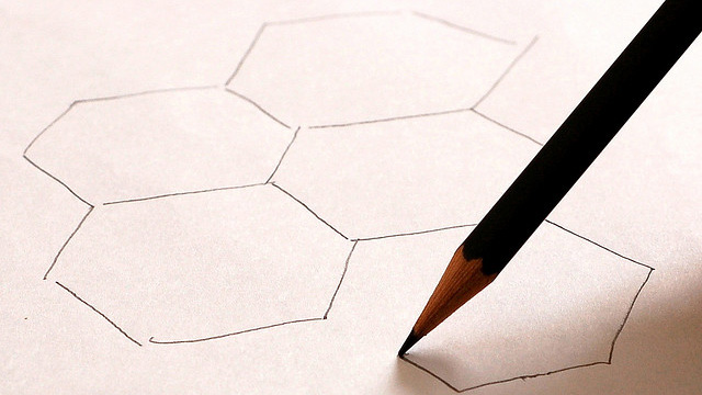 Graphene - A super material, hidden in a pencil Source: Flickr, Martin Griffiths, CC BY-NC-SA 2.0